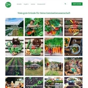 professionelle Website WirGarten Open Soicial Franchise Netzwerk