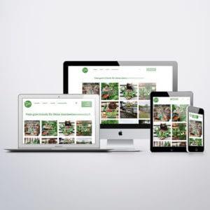 responsive Website WirGarten Open Soicial Franchise Netzwerk