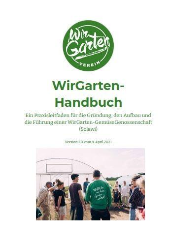 Screenshot WirGarten-Handbuch