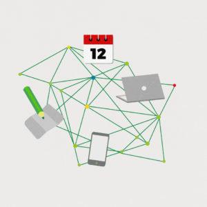 Vernetzung IT-System WirGarten Open Social Franchise Netzwerk